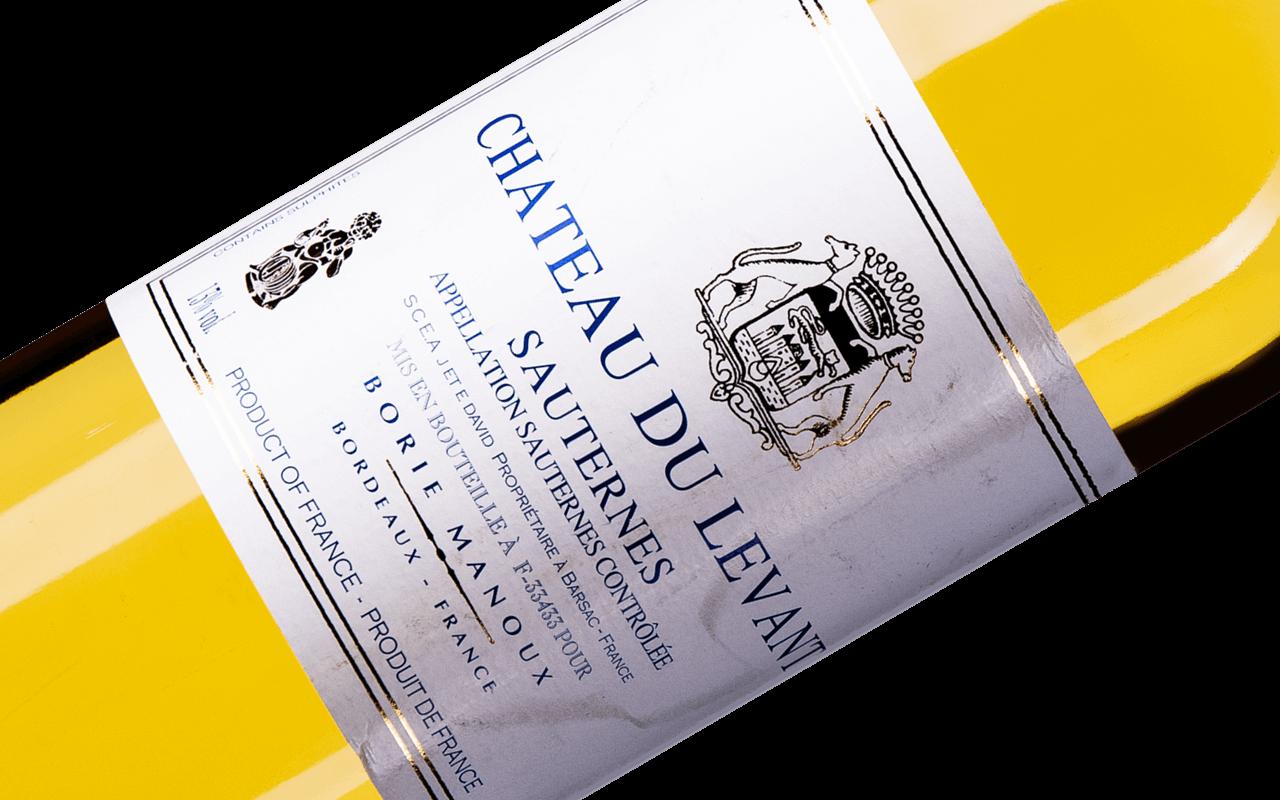 """2018 Chateau du Levant """"Lehm Kalk Sand Kiesel"""" Sauternes Bordeaux, Frankreich"""