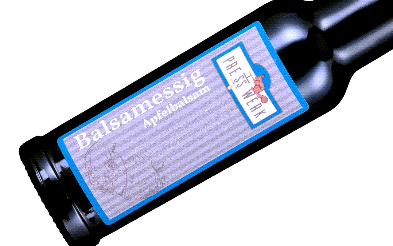 Zellertaler Apfel Balsamessig extra mild - Ölmühle Michaela Hein
