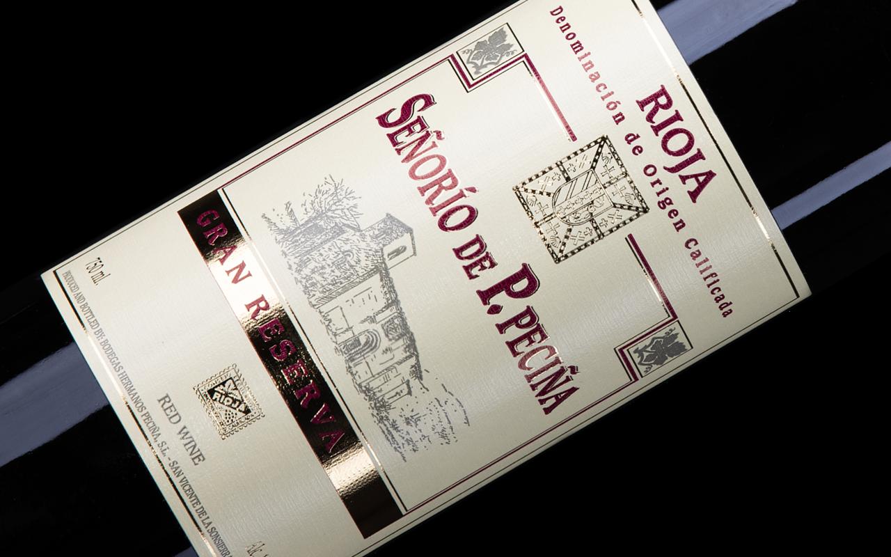 "2009 Gran Reserva ""Alavesa Kalkstein"" Rioja Alta, Spanien"