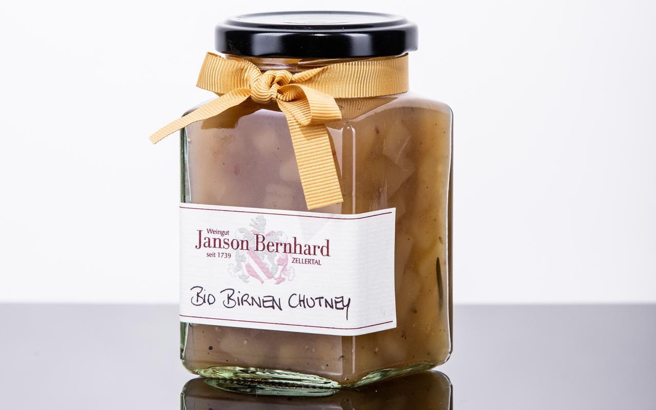 Zellertaler Bio-Birnen-Chutney mit Rosmarin von Demeter-Winzerin Christine Bernhard