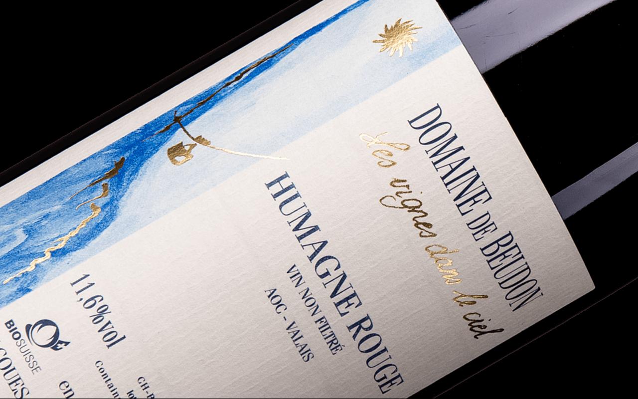 "2016 Humagne Rouge ""Löss Granit Gneis"" Wallis, Schweiz"