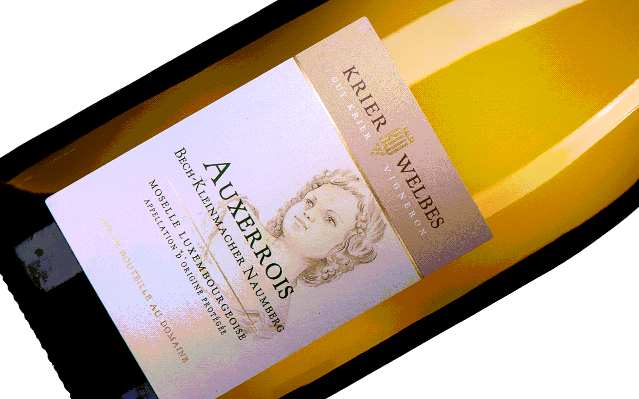 """2019 Auxerrois """"Gipskeuper"""" Moselle, Luxembourg"""