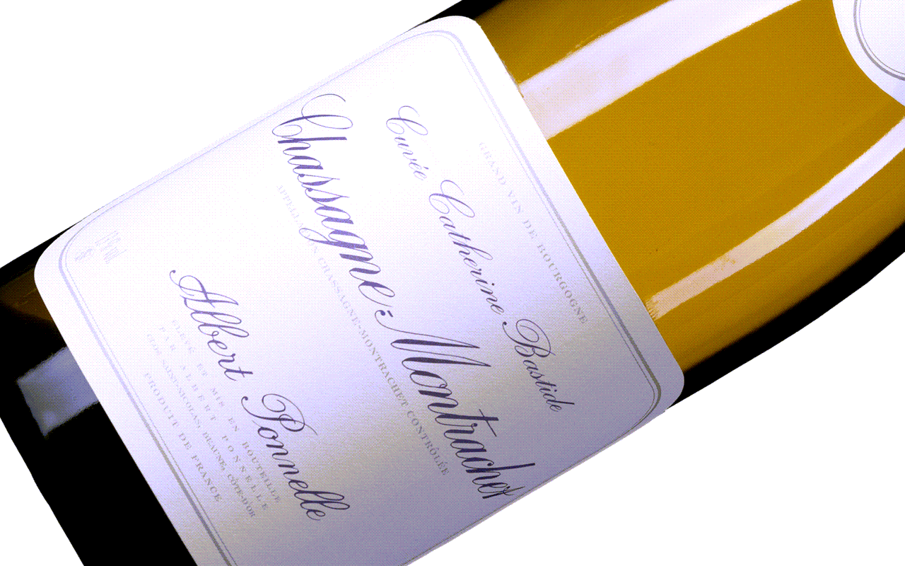 "2015 Chassagne-Montrachet Cuvée Catherine Bastide ""Kalkstein"" Côte de Beaune Burgund, Frankreich"
