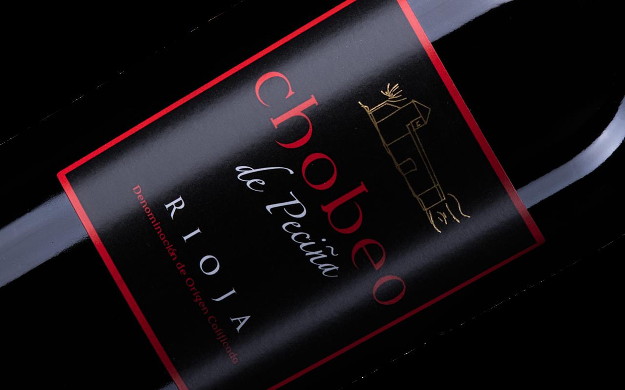 """2005 Chobeo de Pecina Tinto """"Alavesa Kalkstein"""" Rioja Alta, Spanien"""