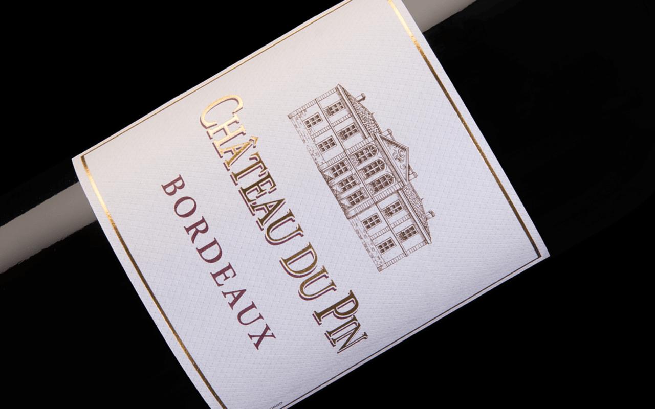 """2016 Château du Pin """"Braunerde"""" Bordeaux,  Frankreich"""