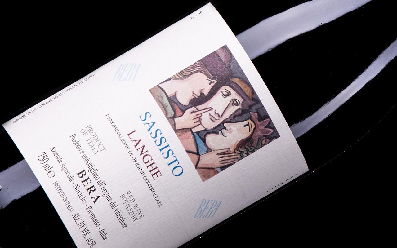 "2016 Sassisto Langhe  ""Ton Kalk"" Piemont, Italien"