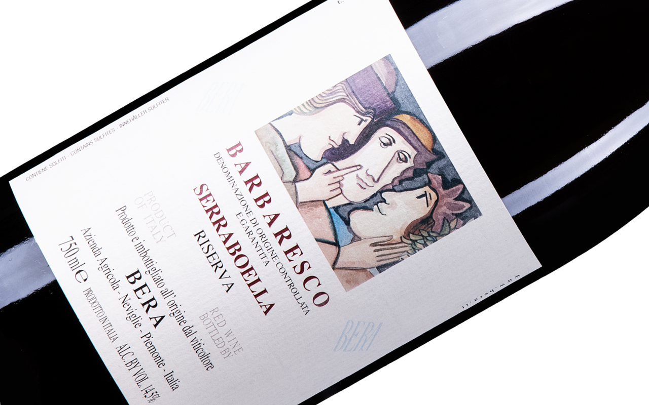 "2015 Barbaresco Serrabuella Riserva Grand Cru ""Ton Kalk"" Piemont, Italien"