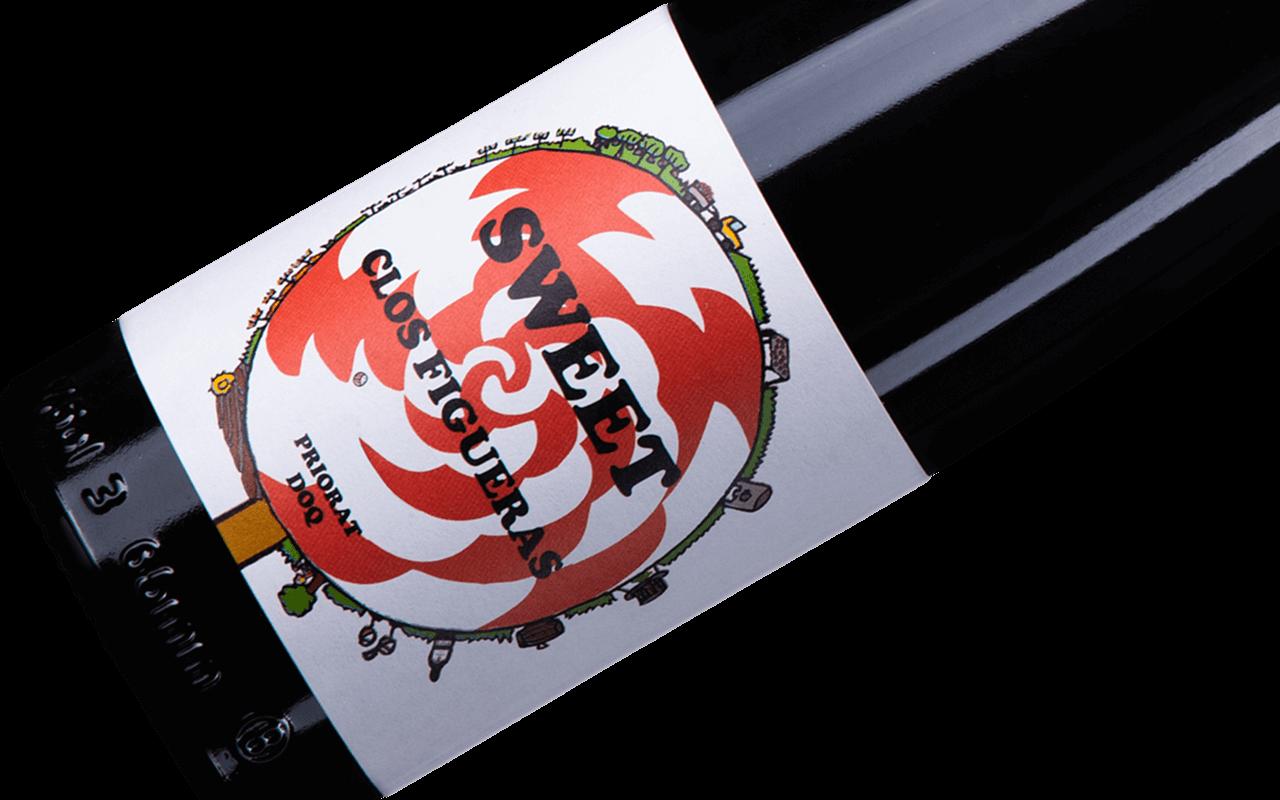 """2016 Sweet Figueres Klein Bio """"Llicorella Schiefer Lehm"""" Priorat, Spanien"""