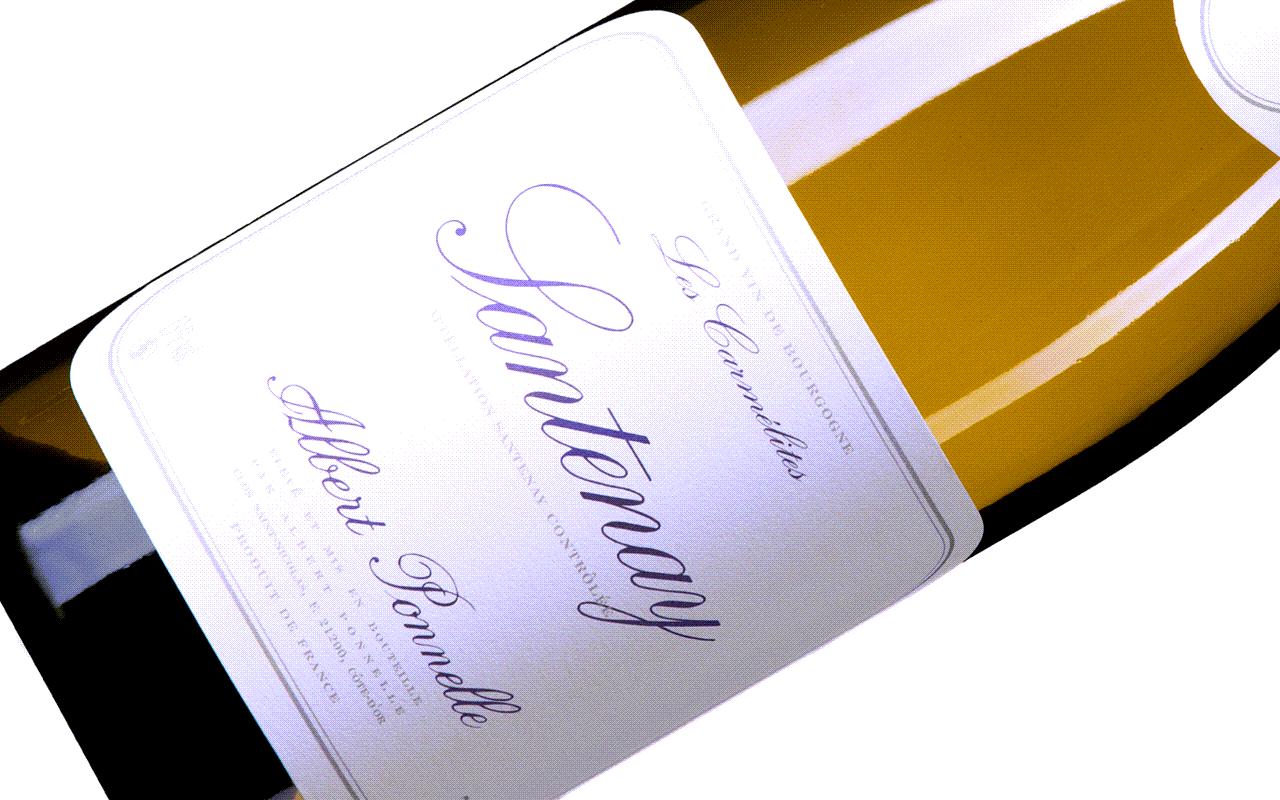 "2014 Santenay Les Carmélites ""Kalkstein"" Côte de Beaune Burgund, Frankreich"