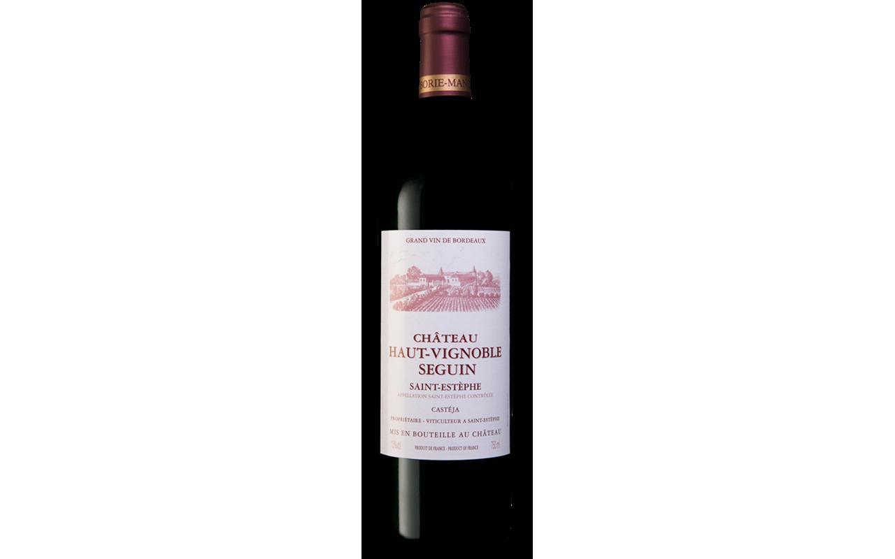 """2007 Château Haut-Vinoble Seguin """"Ton Kiesel Kalk"""" Saint Estéphe Bordeaux, Frankreich"""
