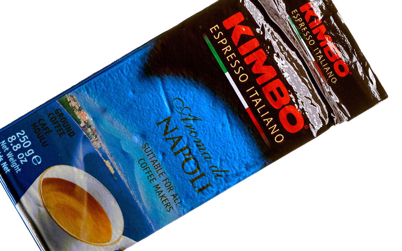 Aroma di Napoli - Espresso-Mischung aus gemahlenen Kaffeebohnen