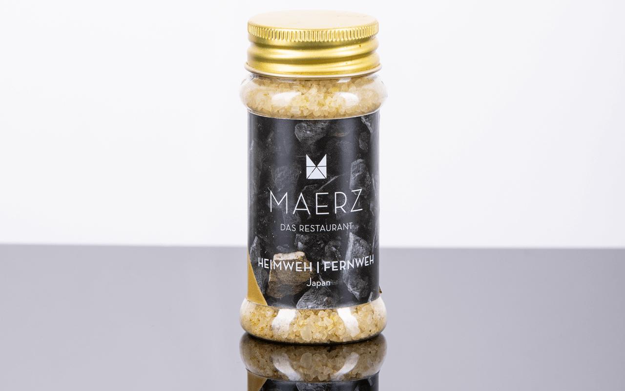 """Gourmetsalz """"Heimweh/Fernweh"""" - hausgemacht von Benjamin Maerz"""