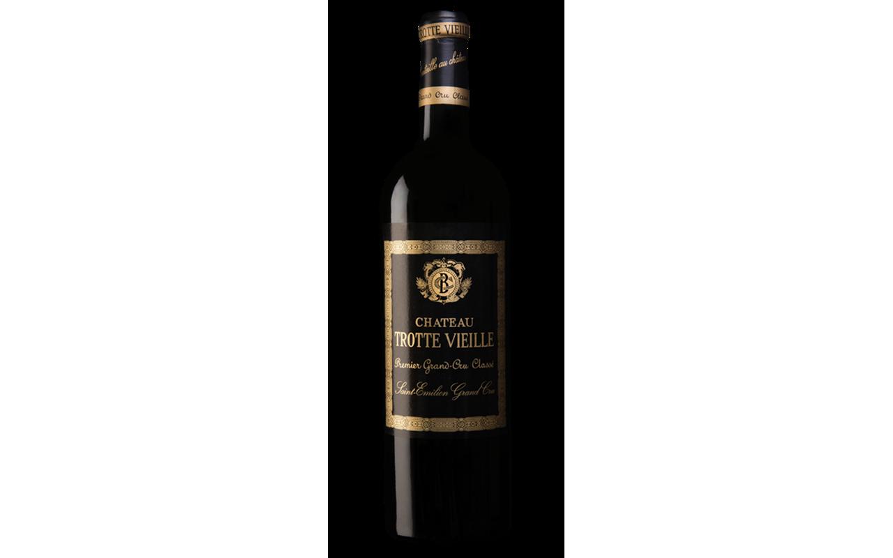 "1997 Trotte Vieille Klein Saint Èmilion Grand Cru ""Kalkstein Ton"" Bordeaux, Frankreich"