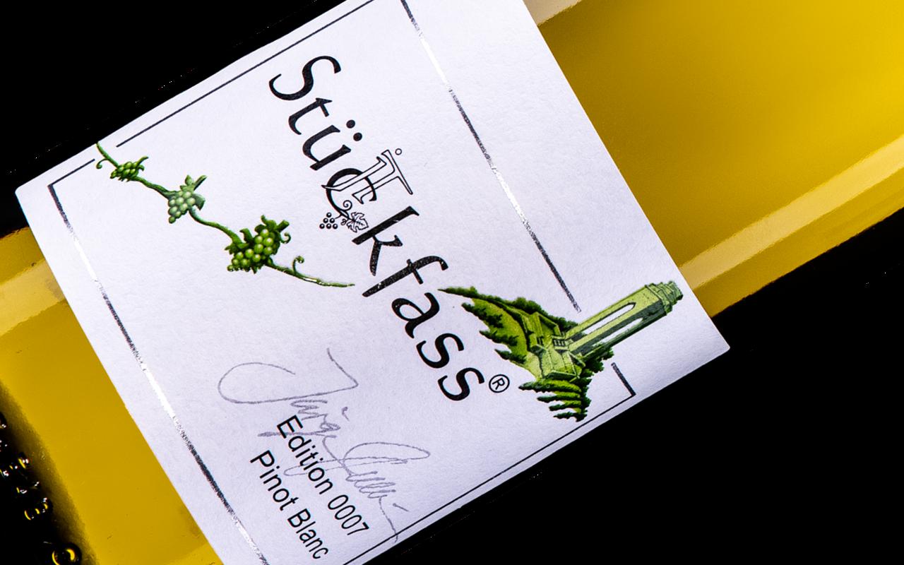"""2017 JTC Stückfass Pinot Blanc """"Kalkstein"""" Zellertal, Deutschland"""