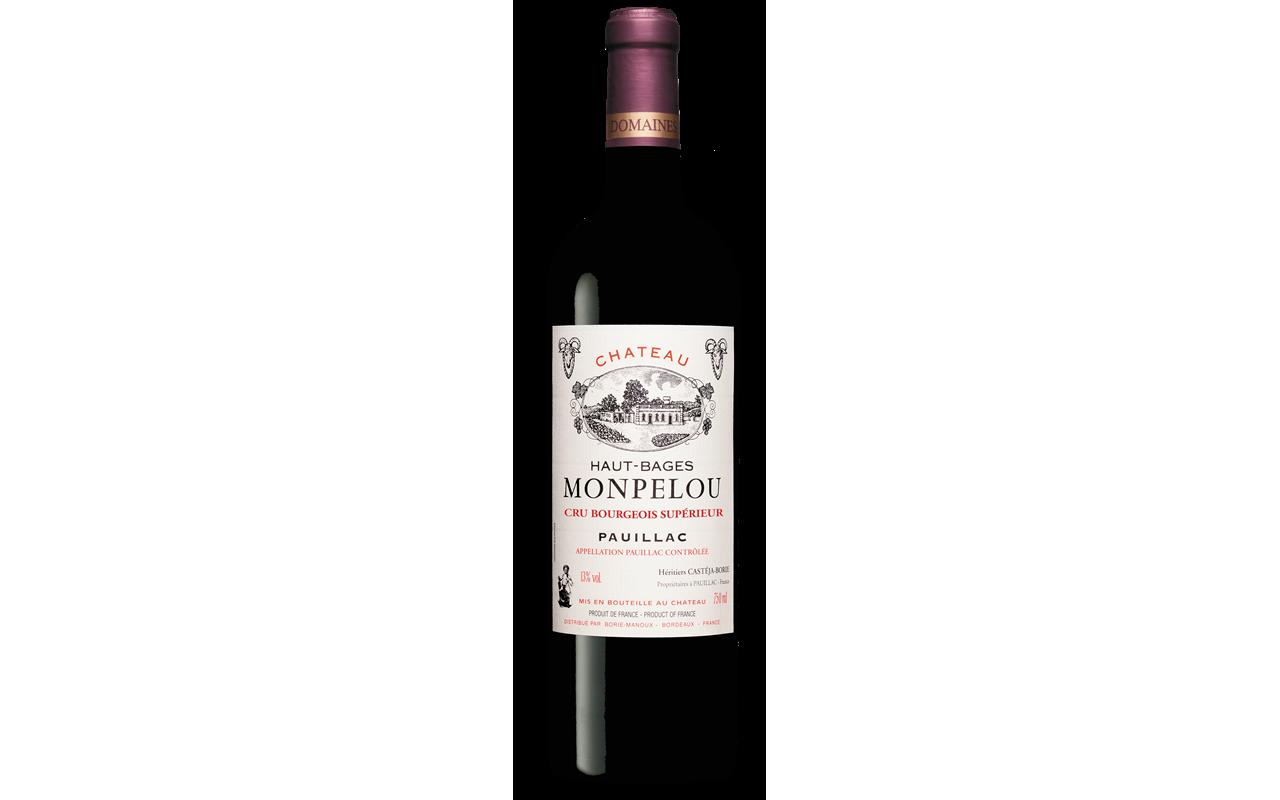 """2002 Château Haut-Bages Monpelou """"Kieselstein"""" Pauillac Bordeaux, Frankreich"""