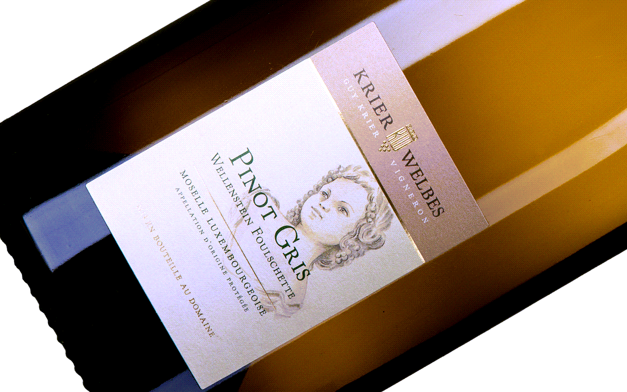 "2019 Pinot Gris Magnum Wellenstein Foulschette GC ""Gipskeuper"" Moselle, Luxembourg"