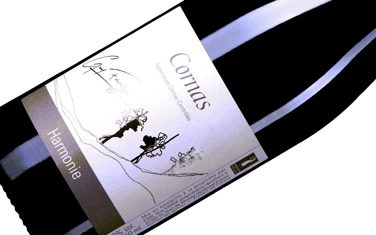 """2015 Cornas """"Gneis mit Granit"""" Nordrhône, Frankreich"""