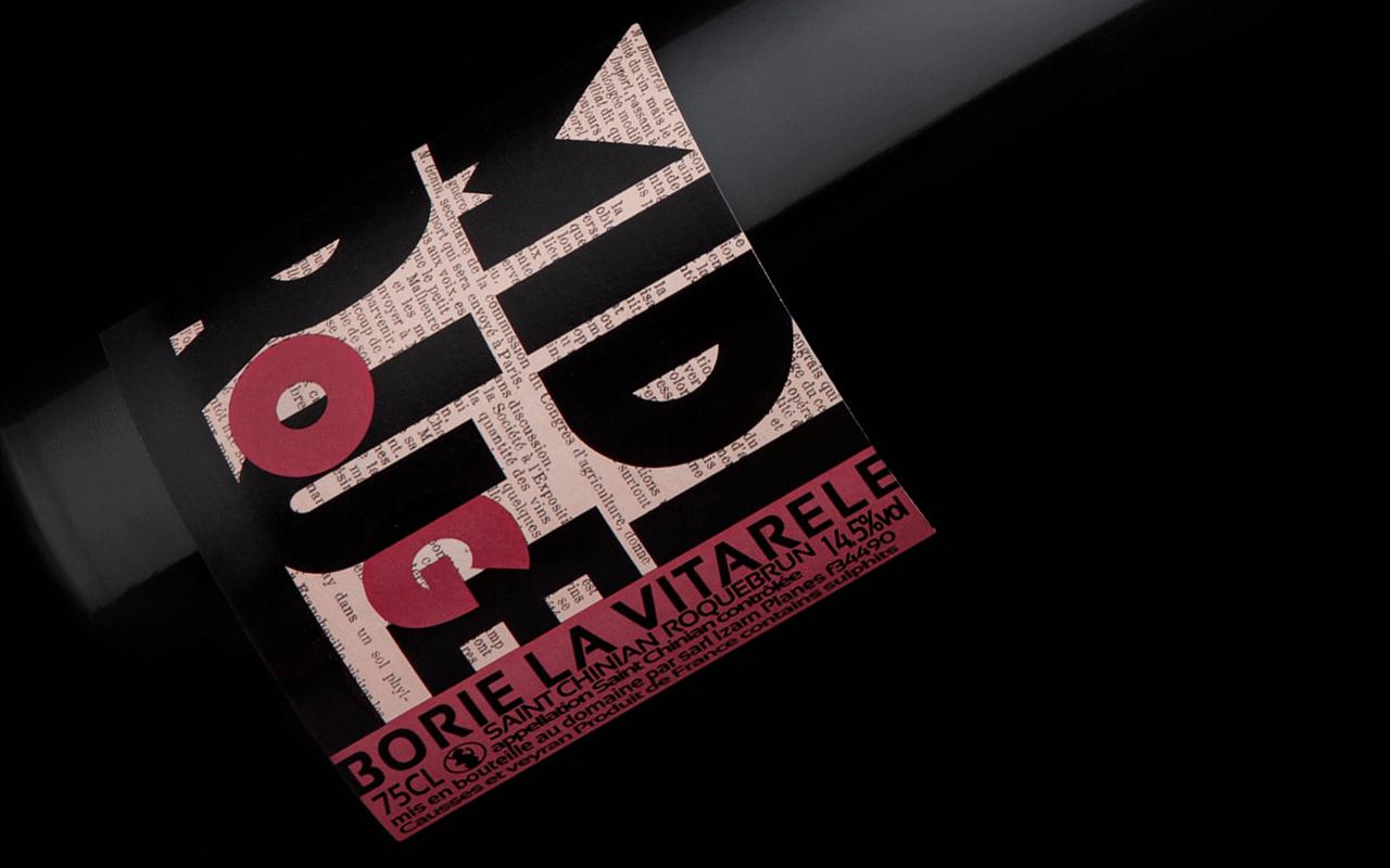"2015 Midi Rouge Bio ""Kiesel Rotschiefer"" Saint Chinian Roquebrun Languedoc, Frankreich"