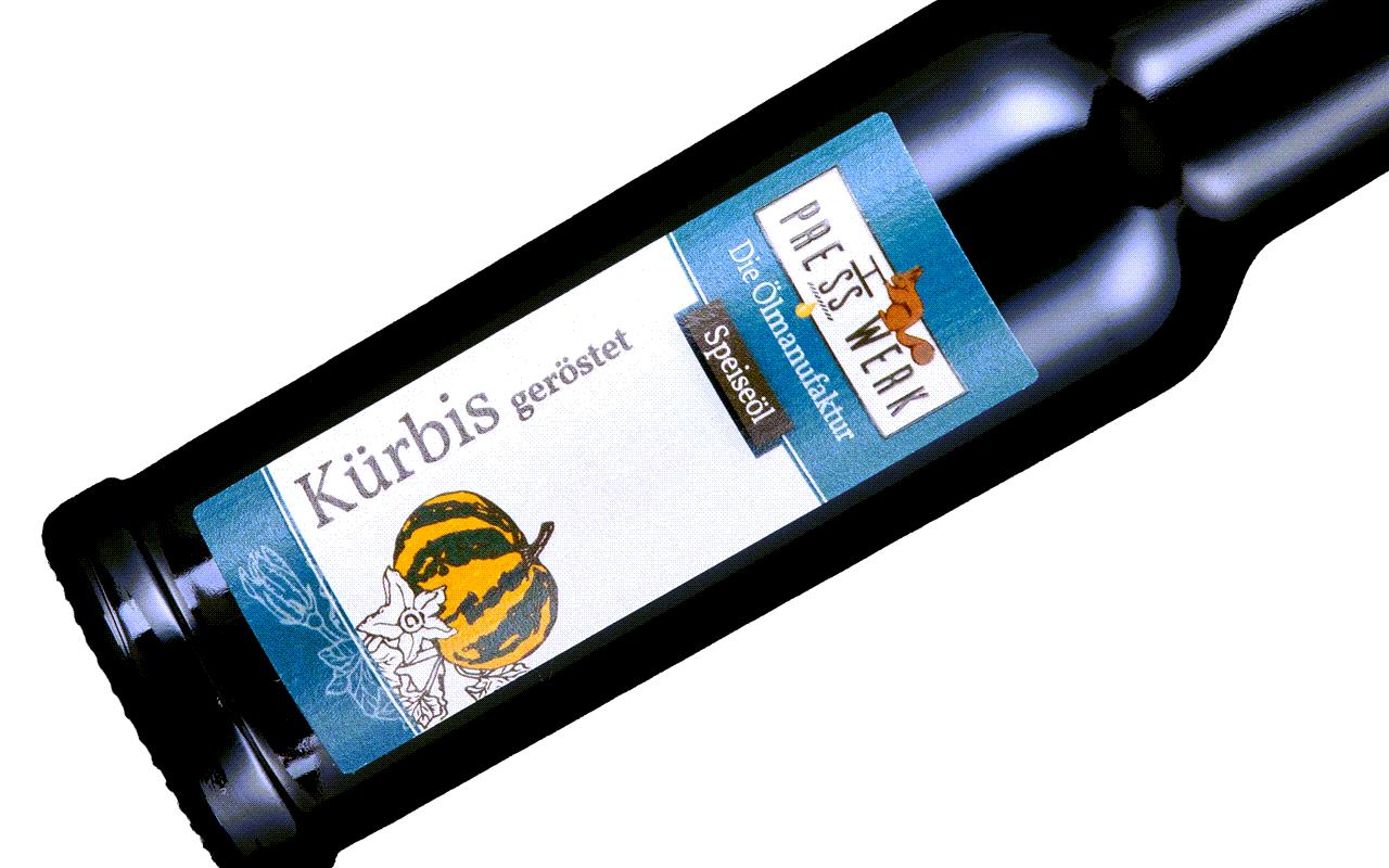 Zellertaler Kürbiskernöl - Ölmühle Michaela Hein