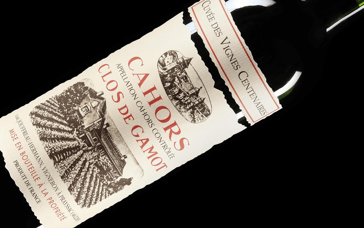 """2015 Cuvée des Vignes Centenaires Magnum """"Quarzkiesel Kalk Feuerstein"""" Cahors, Frankreich"""