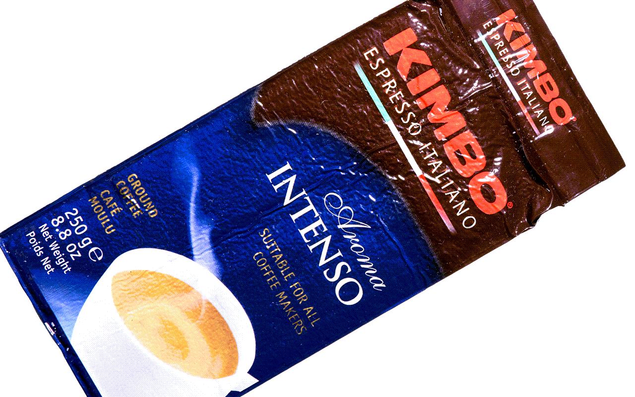 Aroma Intenso - Universal-Espresso Mischung aus gemahlenen Kaffeebohnen